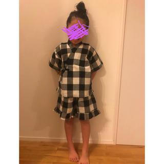 甚平 120 女の子(甚平/浴衣)
