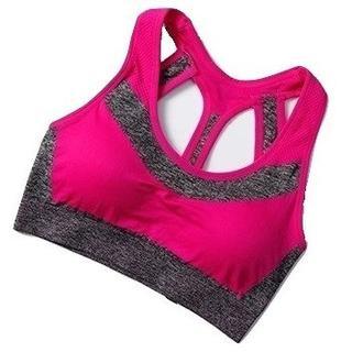 (おまけ付)スポーツブラ フィットネスブラ ピンク 新品(ウェア)
