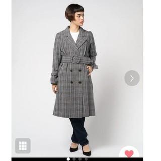 アンティローザ(Auntie Rosa)のVannie Tokyo ウエストベルトロングジャケット(ロングコート)
