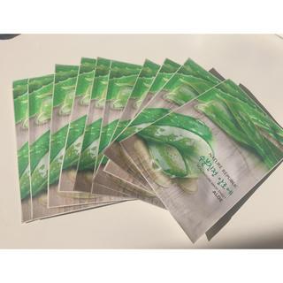 ネイチャーリパブリック(NATURE REPUBLIC)の韓国 NATURE PEPUBLIC アロエフェイスマスク 10枚セット(パック / フェイスマスク)