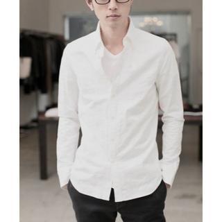 ダブルジェーケー(wjk)の定価27000円 wjk BDオックスフォードドレスシャツ AKMジュンハシモト(シャツ)