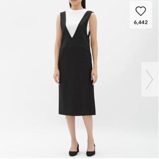 GU - ☆値下げしました‼︎GU ジャンパースカート