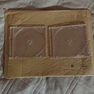CD/DVDケース   透明   2枚セット(CD/DVD収納)