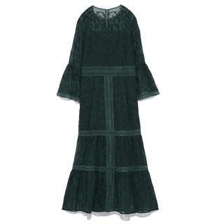 フレイアイディー(FRAY I.D)のFRAY I.D オーナメント刺繍ドレス(ミディアムドレス)