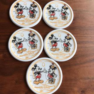 ディズニー(Disney)のディズニーコースター【陶器製】(テーブル用品)