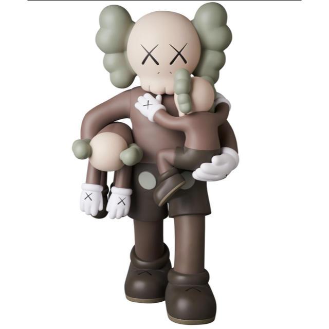 MEDICOM TOY(メディコムトイ)のKAWS kaws カウズ CLEAN SLATE BROWN 新品 納品書付き エンタメ/ホビーのおもちゃ/ぬいぐるみ(ぬいぐるみ)の商品写真