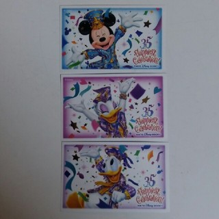 ディズニー(Disney)のディズニーランド使用済みチケット(遊園地/テーマパーク)