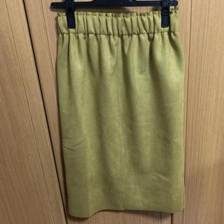 シェトワ(Chez toi)のスウェードスカート(ひざ丈スカート)