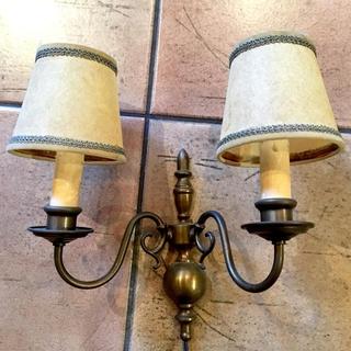ウォールランプ 真鍮 アンティーク