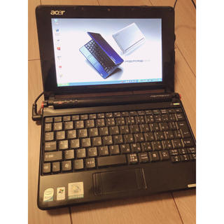 エイサー(Acer)のAcer aspire one zg5 ミニノートパソコン(ノートPC)