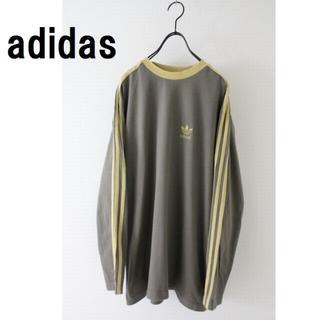 アディダス(adidas)のアディダス ロンT 3本ライン 古着 (Tシャツ/カットソー(七分/長袖))