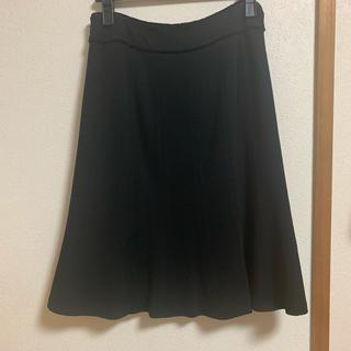 エムプルミエ(M-premier)のMプルミエ フレアスカート ブラック ウール エムプル 卒業式 フォーマル(ひざ丈スカート)