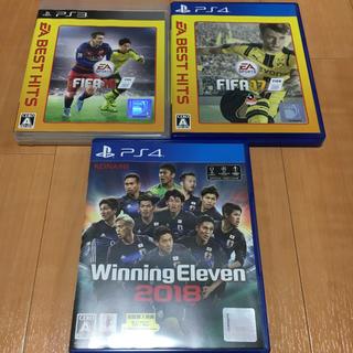 プレイステーション(PlayStation)のウイニングイレブン2018/FIFA16,17(家庭用ゲームソフト)