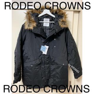 ロデオクラウンズワイドボウル(RODEO CROWNS WIDE BOWL)のRODEO CROWNS ダウンジャケット 中綿 ダウンコート フード ファー(ダウンジャケット)