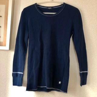 ジムフレックス(GYMPHLEX)のGymphlex ワッフルシャツ Mサイズ ネイビー(Tシャツ/カットソー(半袖/袖なし))