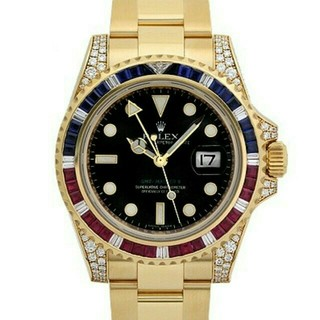 ロレックス(ROLEX)の18kローズゴールドゴールドトップダイヤモンド腕時計(腕時計(デジタル))