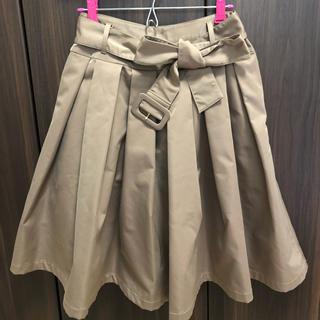 アンティローザ(Auntie Rosa)のAuntie Rose ベルト付 スカート(ひざ丈スカート)