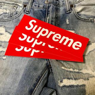 シュプリーム(Supreme)のSupreme ステッカー 赤紫3枚 正規品【色指定可能】 (その他)