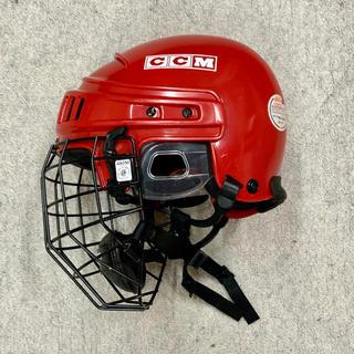 シーシーエム(CCM)のヘルメット(赤)(ウインタースポーツ)