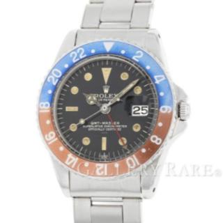 ロレックス(ROLEX)のレックス GMTマスター 1675 レッド ブルーベゼル 中古ROLEX 腕時計(腕時計(アナログ))