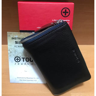 タフ(TOUGH)のタフ tough / 2つ折り財布 別注品 未使用(折り財布)