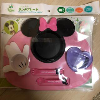 ディズニー(Disney)のミニー ランチプレート 新品未使用(プレート/茶碗)