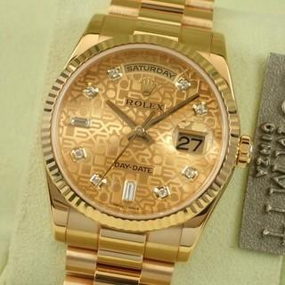 ロレックス(ROLEX)のロレックス デイデイト コンピューター文字盤 18KYG(腕時計(デジタル))
