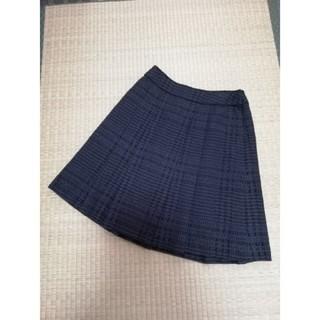 アナイ(ANAYI)の美品【ANAYI】タックスカート(ひざ丈スカート)