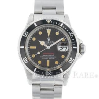 ロレックス(ROLEX)のロレックス サブマリーナ デイト 赤サブ メーターファースト ROLEX腕時計中(腕時計(アナログ))