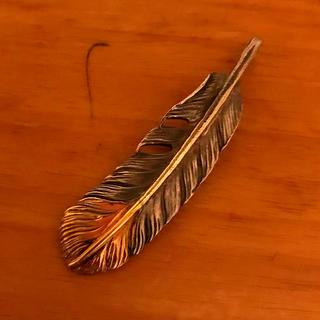 アリゾナフリーダム(ARIZONA FREEDOM)のarizona freedom アリゾナフリーダム 50mm 先金フェザー(ネックレス)