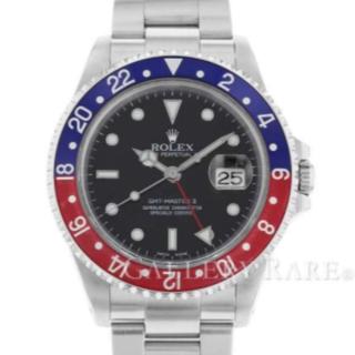 ロレックス(ROLEX)のロレックス GMTマスター2 デイト K番 16710 ROLEX 腕時計中古(腕時計(アナログ))