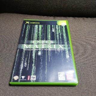 エックスボックス(Xbox)のENTER THE MATRIX エンターザマトリックス(家庭用ゲームソフト)
