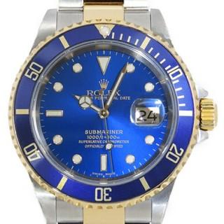 ロレックス(ROLEX)のROLEXロレックスサブマリーナデイト 青サブ 自動巻き(腕時計(アナログ))