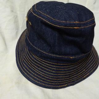 新品overrideオーバーライド購入GRACEデニム素材・バケットハット帽子