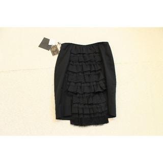 カリアング(kariang)のK300★カリアング ドレアング チュール フリル スカートS新品(ひざ丈スカート)