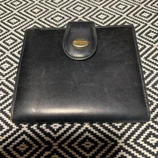 バリー(Bally)の【格安処分】BALLY ブラック 折り畳み財布(折り財布)