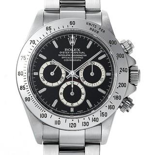 ロレックス(ROLEX)のロレックス ROLEX コスモグラフ デイトナ 黒文字盤  (腕時計(デジタル))