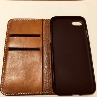 トチギレザー(栃木レザー)のiPhone7 手帳型ケース 栃木レザー (iPhoneケース)
