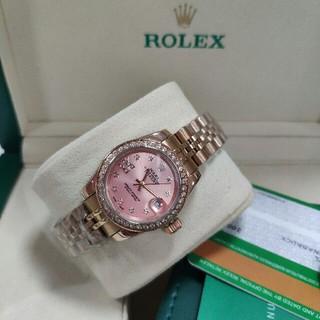 ロレックス(ROLEX)のオイスターパーペチュアルデイトジャスト 279135RBRレディース腕時計(腕時計)