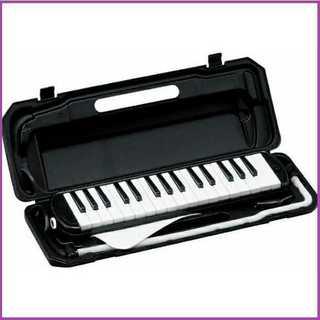 【学校で大活躍♪】鍵盤ハーモニカ メロディーピアノ ブラック(その他)