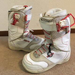 ディーラックス(DEELUXE)の人気‼️【良品♪】DEELUXE☆スノーボード ブーツ/レディース 23.5㎝(ブーツ)