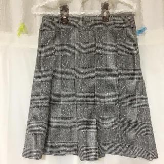 サンタモニカ(Santa Monica)のグレンチェック スカート(ミニスカート)