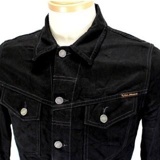 ヌーディジーンズ(Nudie Jeans)のNudie Jeans KENNY DRY BLACK ブラックデニム (Gジャン/デニムジャケット)