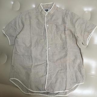 エンジニアードガーメンツ(Engineered Garments)のエンジニアードガーメンツ 半袖シャツ バンドカラー(シャツ)