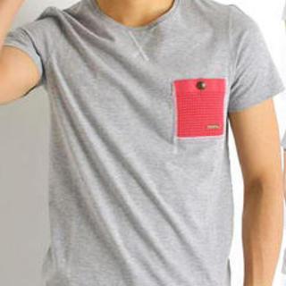 バーク(BARK)のBark(バーク)半袖ニットポケットTシャツ サイズM(Tシャツ/カットソー(半袖/袖なし))