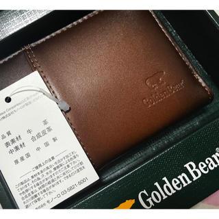 ゴールデンベア(Golden Bear)の【新品タグ付】シャドーラウンドファスナー小銭入れ(コインケース/小銭入れ)