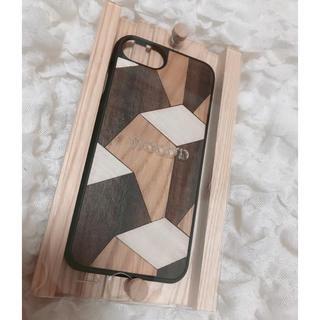 ウッドウッド(WOOD WOOD)のWOOD'D  iPhone8ケース ウッド(iPhoneケース)