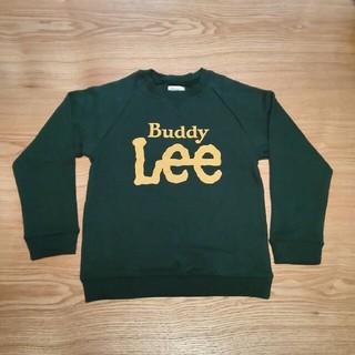バディーリー(Buddy Lee)の【新品タグ付き】BuddyLee リー ロゴトレーナー 120 グリーン(Tシャツ/カットソー)