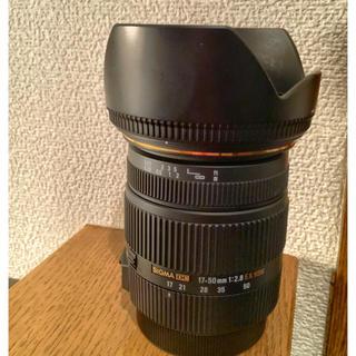 シグマ(SIGMA)の17-50mm F2.8 EX DC OS HSM [キヤノン用](レンズ(ズーム))