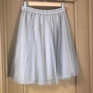 アラマンダ(allamanda)のAllamanda イング スカート チュールスカート アラマンダ (ひざ丈スカート)
